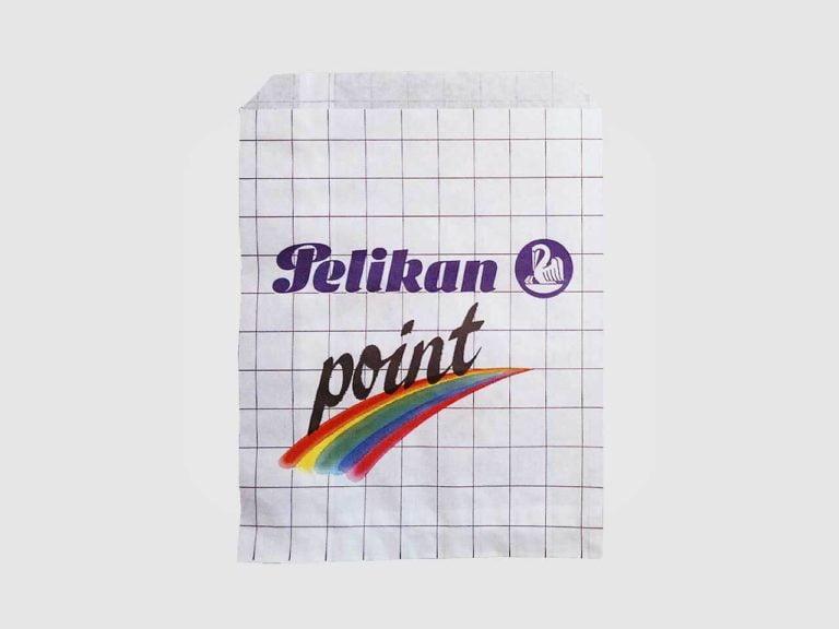Busta in carta piatta con patella Pelikan
