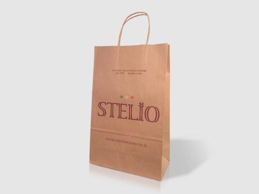 Busta in carta avana Stelio personalizzata