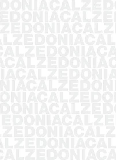 Carta velina Calzedonia stampata grigia in continuo su carta bianca