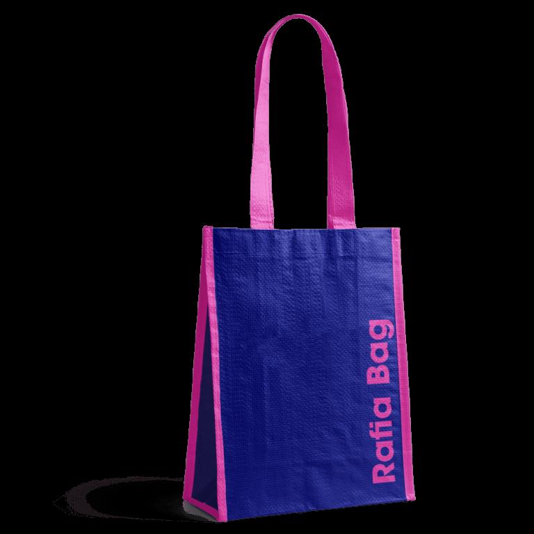 Shopping bag personalizzata in tessuto di propilene