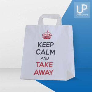 Shopper take away in carta